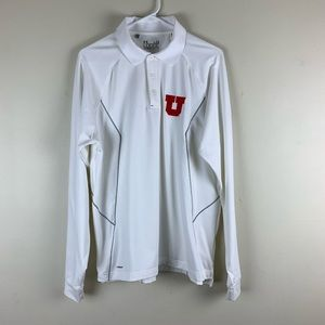 Under Armour Coldgear Loose Fit L/S Polo Utah Utes